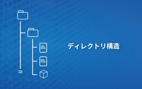 ディレクトリ構造の図