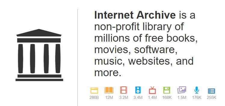 アーカイブデータの種類