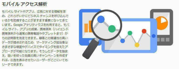 モバイル分析