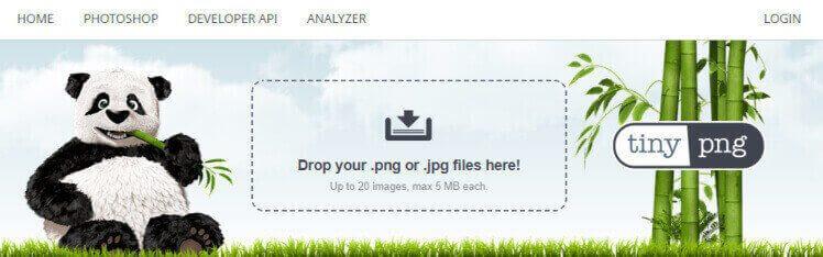 画像圧縮ツール・TinyPNG