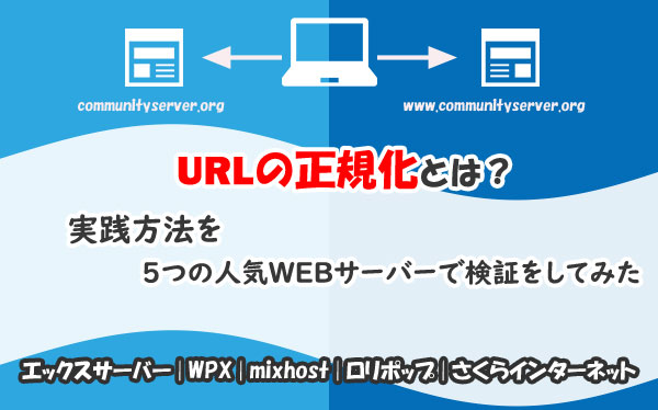 URLの正規化とは?実践方法を5つの人気WEBサーバーで検証をしてみた