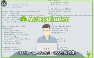 Autoptimizeの使い方・設定方法【HTML・JavaScript・CSSを最適化するWordPressプラグイン】...