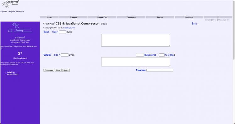CSS&JavaScript Compressor